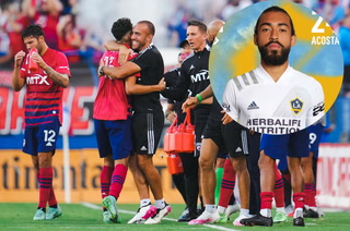 Danilo Acosta regresa a la actividad en la MLS con el primer equipo del Galaxy en la derrota ante el FC Dallas
