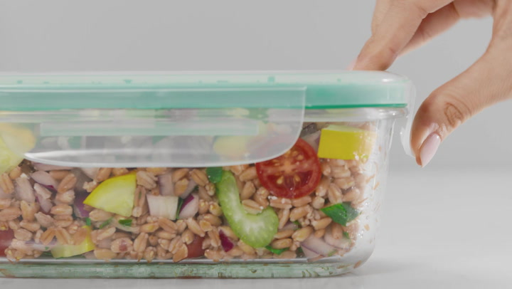 Preview image of OXO Smart Seal Glass Food Storage video