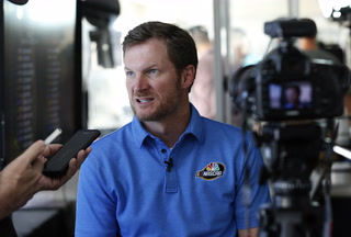 NASCAR driver Dale Earnhardt Jr. sits down for exclusive interview with the Review-Journal