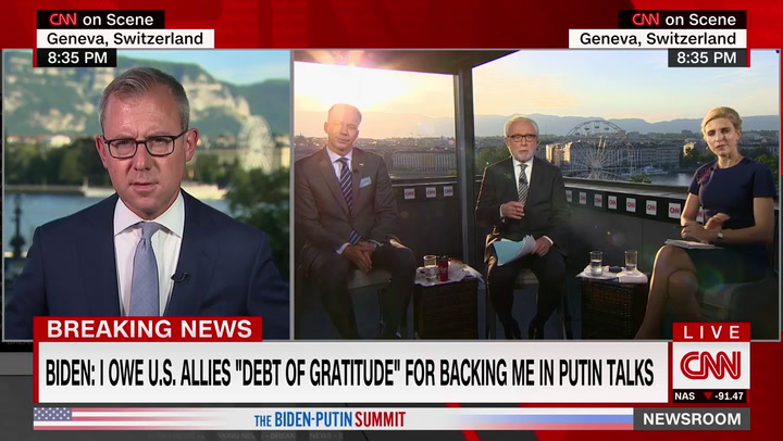 CNN's Zeleny: Biden Is Protected by Aides 'Not Wanting Him to Answer Some Questions'
