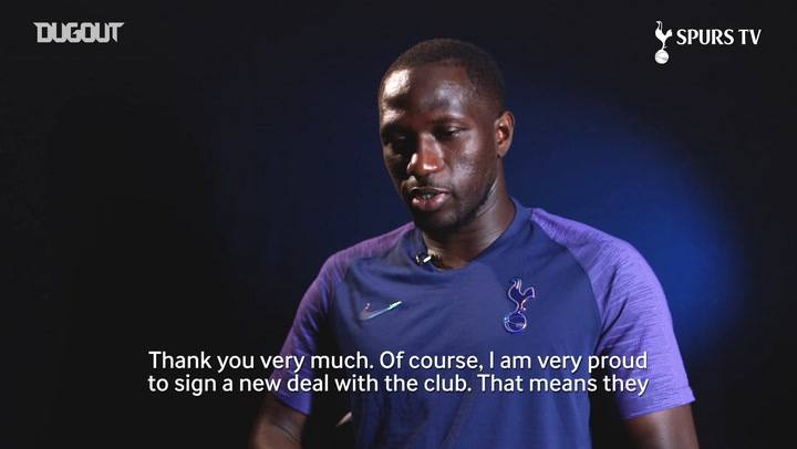 Moussa Sissoko 'very proud' to sign new Spurs contract