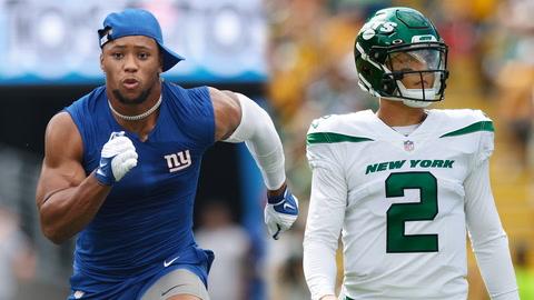 VACCHIANO: Saquon Barkley passes eye test for Week 1, Robert Saleh-Zach Wilson can lift Jets to success