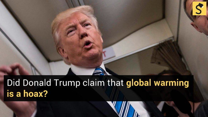 FACT CHECK: Did Donald Trump Claim Global Warming Is a Hoax?
