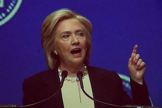 Clinton speaks at NALEO conference
