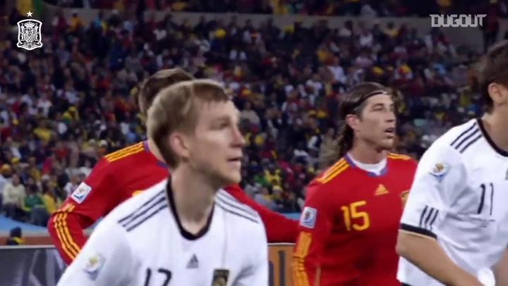 Puyol decide para a Espanha na semi da Copa de 2010