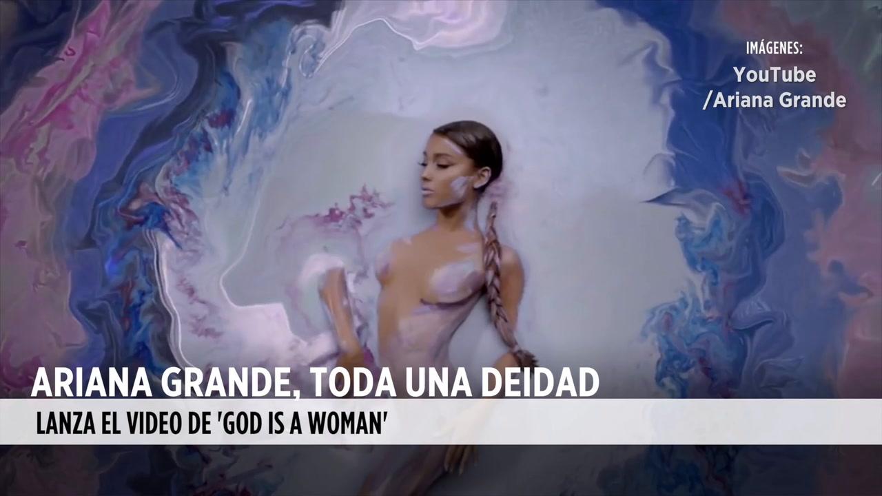 Video: Ariana Grande, toda una deidad