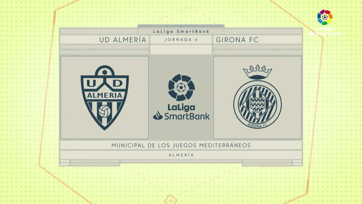 LaLiga SmartBank (J6): Resumen y goles del Almería 3-1 Girona