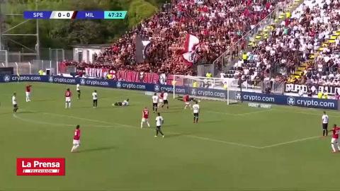 Spezia 1-2 AC Milan (Serie A)