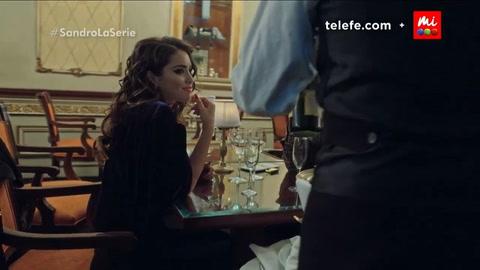 Lali Espósito se metió en el personaje de una de las mujeres de Sandro