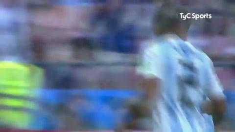 Los galos recibieron cuatro goles, tres de Argentina