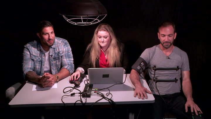 The Fighter and The Kid Podcast Stars Take A Lie Detector Test