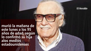 Fallece Stan Lee, la leyenda de los comics