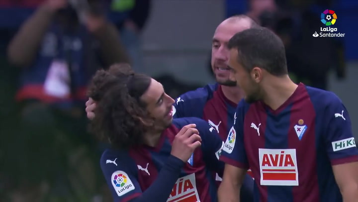 LaLiga: Eibar - Real Madrid. Partidazo de Marc Cucurella