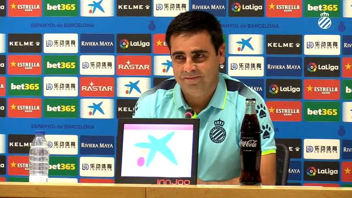 """Gallego: """"Llegamos al 100% para competirle al Sevilla"""""""