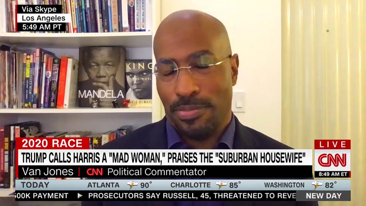 Van Jones: Trump's Angry Black Woman Attacks Will Create 'Backlash of Support for Kamala'