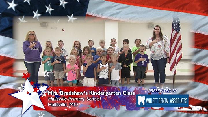 Hallsville Primary School - Mrs. Bradshaw's Kindergarten Class