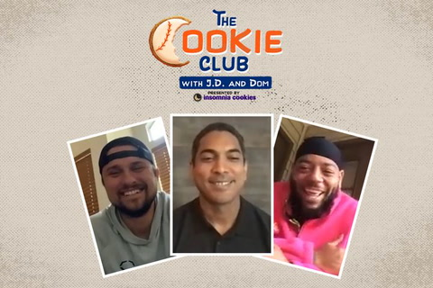 The Cookie Club: Mets manager Luis Rojas drops in!
