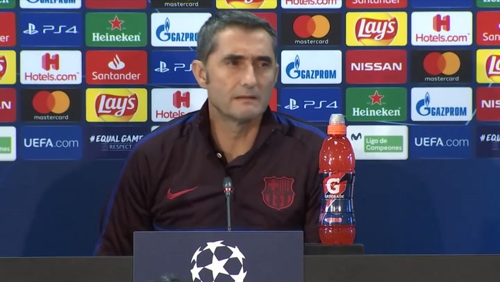 Así ha sido la rueda de prensa completa de Ernesto Valverde antes del partido ante el Slavia de Praga