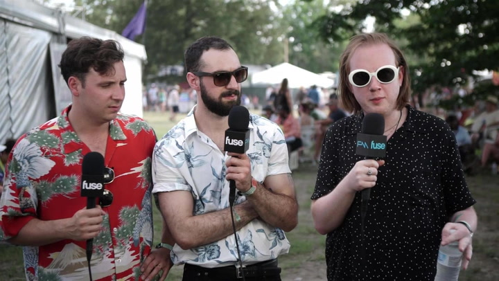 Two Door Cinema Club On The Vibe At Festivals