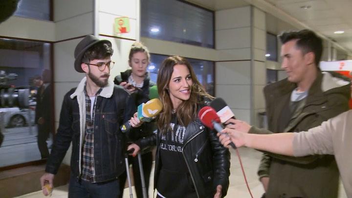 Paula Echevarría regresa a casa y responde así a las preguntas sobre su divorcio