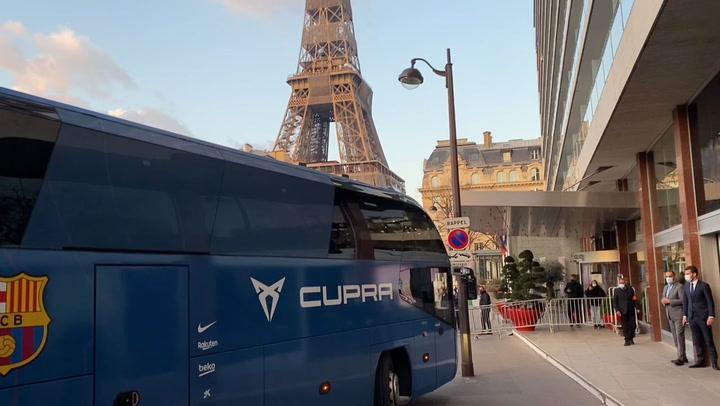 El Barça ya está en París