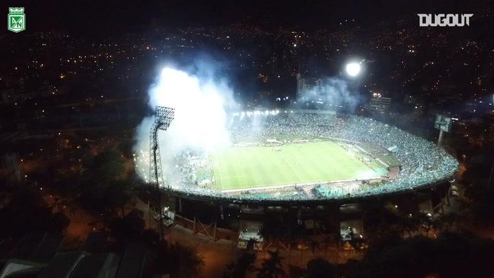 The incredible atmosphere at the 2016 Copa Libertadores Final