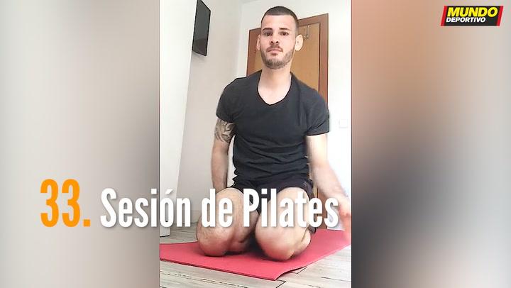 ENTRENA EN CASA (33): Sesión de Pilates
