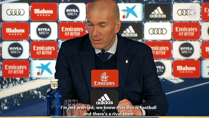 Zinedine Zidane: 'The upcoming matches are going to be complicated'