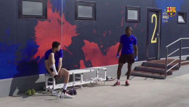 Vuelta al trabajo del Barça B con trabajo individual