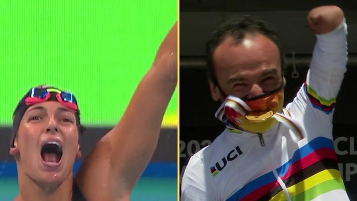 Michelle Alonso y Ricardo Ten, abanderados del Equipo Español en los Paralímpicos de Tokio