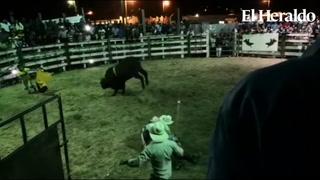 Hondureño perece luego de accidente en una monta de toros