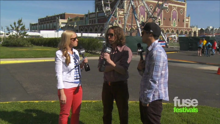 Incubus On Working With Odd Future: Bamboozle 2012