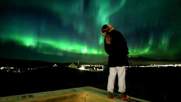 Nordlendingens magiske nordlysvideo bergtar verden