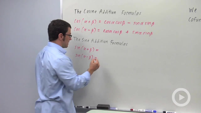 Using the Sine and Cosine Addition Formulas to Prove Identities