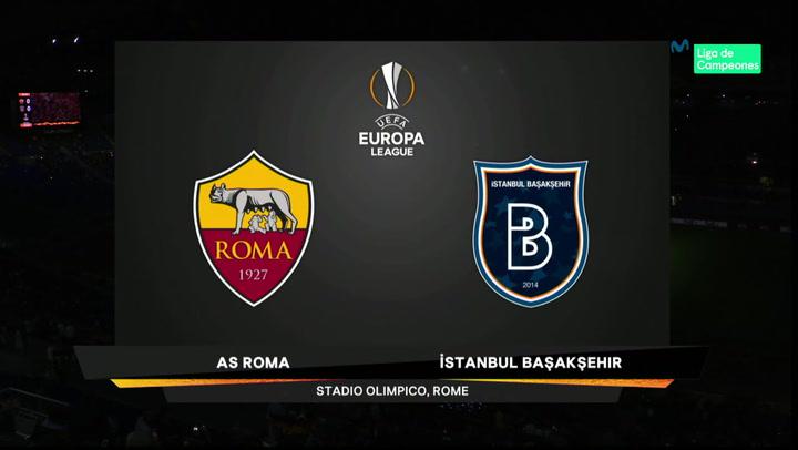 Europa League Resumen y Goles del Partido Roma-Istanbul