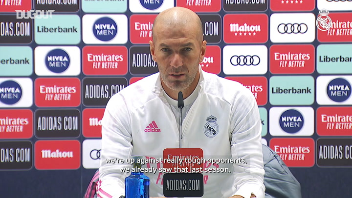 Zidane: 'My squad has a lot of talent, but a lot of heart as well'