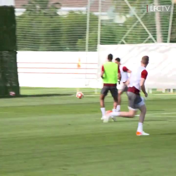 El Liverpool se entrena en Marbella