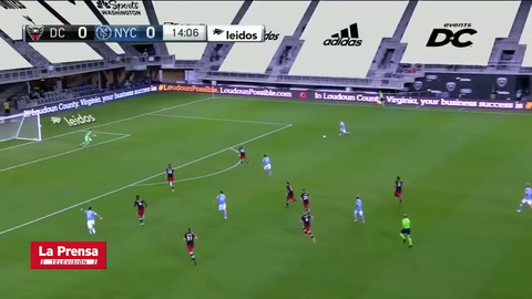 DC United 2-1 New York City FC (MLS)