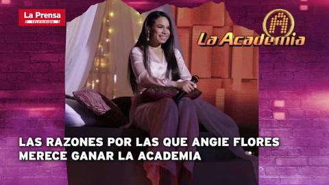 En Claves: Las razones por las que Angie Flores merece ganar La Academia