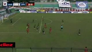 Denovan Torres realiza otra espectacular atajada contra la UPNFM en el Yankel