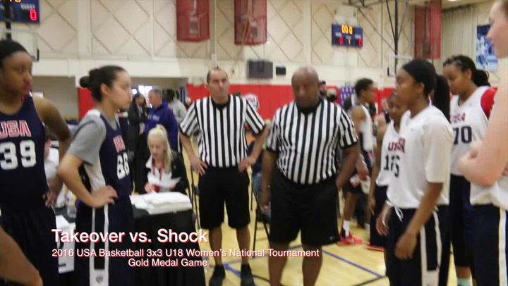 2016 USA Basketball 3x3 U18 National Tournament Women's Gold Medal Game