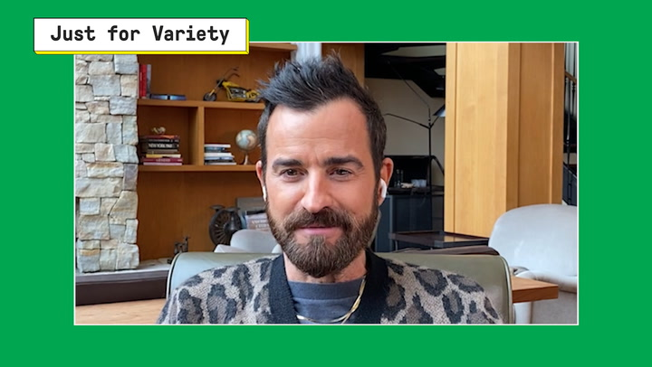 Justin Theroux Joins 'Just for Variety' to Talk 'The Mosquito Coast'