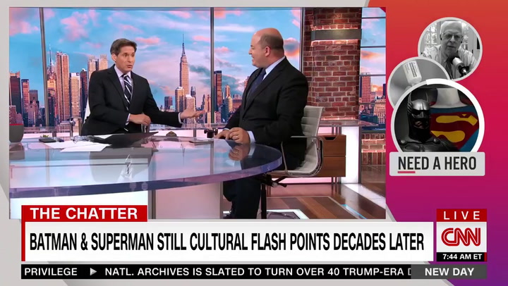 CNN's Stelter Celebrates Superman Dropping 'American Way' Motto: 'This Is a Global Franchise'
