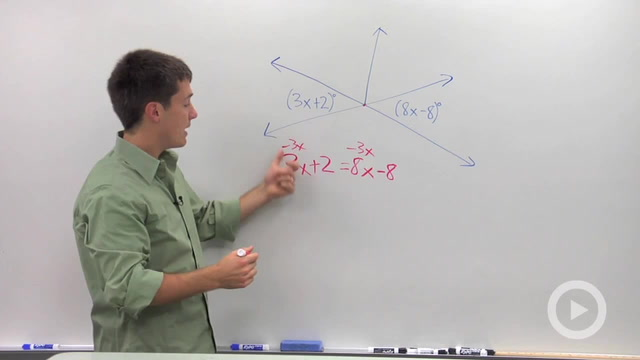 Vertical Angles - Problem 2