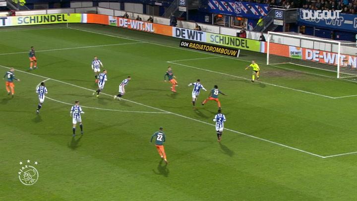 Dušan Tadić double leads Ajax past Heerenveen