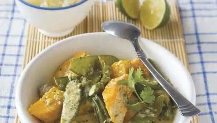 Vegetable Thai Green Curry