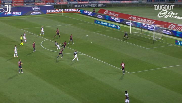 Paulo Dybala'nın Bologna'ya Sol Ayağıyla Attığı Gol