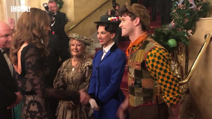 Kate Middleton conoce a Mary Poppins