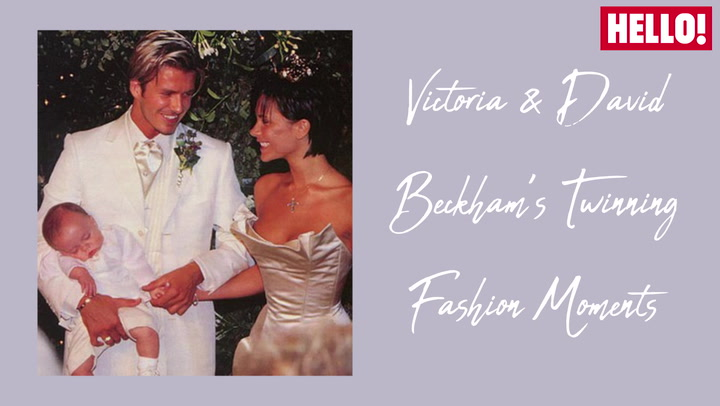 Victoria And David Beckham\'s Twinning Fashion Moments