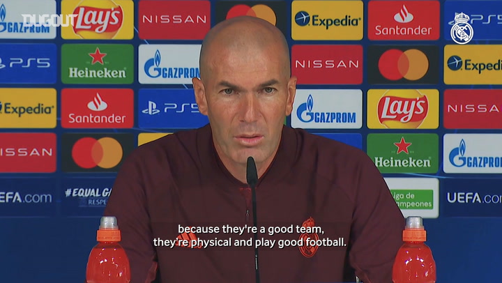 Zidane: 'Every day is a final'